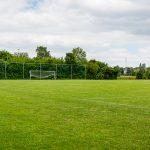 Fussballfeld für die Schüler