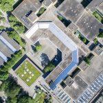 Hauswirtschaftliche Schule Waiblingen von oben