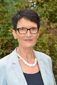 Frau Kampfl-Vogelmann der Maria-Merian-Schule Waiblingen